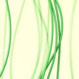 Fondo - Líneas Verdes Fotografía de archivo libre de regalías