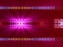 Fondo, líneas y luz abstractos rojos Foto de archivo libre de regalías