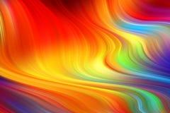 Fondo l?quido del color de la forma de la onda Dise?o del arte para su proyecto de dise?o Ilustraci?n EPS10 del vector stock de ilustración