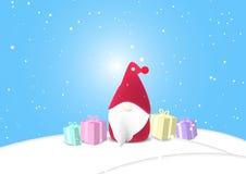 Fondo, la Navidad, vector Foto de archivo