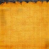 Fondo lacerato astratto arancio semplice di Halloween Fotografia Stock Libera da Diritti