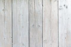 Fondo lavado blanco de los tablones del andamio Fotografía de archivo libre de regalías