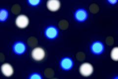Fondo: LED colorato Bokeh immagini stock