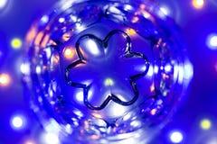 Fondo: LED colorato Bokeh immagine stock