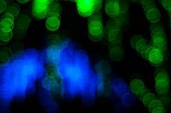 Fondo leggero astratto di Bokeh Immagine della sfuocatura della luce di defocus alla notte Immagine Stock Libera da Diritti