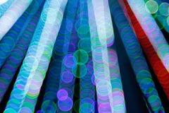 Fondo leggero astratto di Bokeh Immagine della sfuocatura della luce di defocus alla notte Fotografie Stock