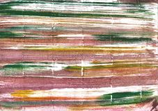 Fondo leggero dell'acquerello dell'estratto di taupe fotografie stock