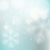 Fondo leggero di inverno illustrazione vettoriale