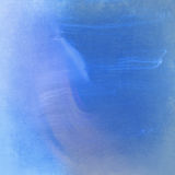 Fondo leggero e blu dell'acquerello Immagine Stock
