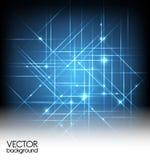 Fondo ligero abstracto del vector Fotografía de archivo libre de regalías
