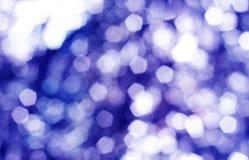 Fondo ligero azul del bokeh Imagen de archivo libre de regalías