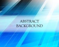 Fondo ligero azul del extracto con formas poligonales y lugar para su texto stock de ilustración