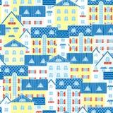 Fondo ligero de casas libre illustration
