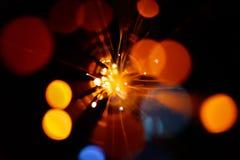 Fondo ligero de la explosión imagen de archivo libre de regalías