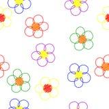 Fondo ligero de la flor Imagen de archivo libre de regalías