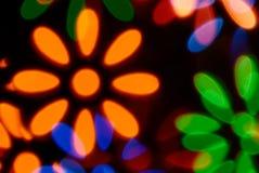 Fondo ligero de la flor Fotografía de archivo libre de regalías