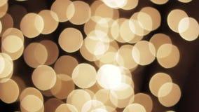 Fondo ligero de la noche del disco del centelleo de la lámpara metrajes