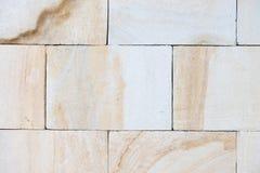 Fondo ligero de la pared de la piedra caliza Fotografía de archivo libre de regalías