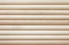 Fondo ligero de madera del cilindro Fotografía de archivo libre de regalías