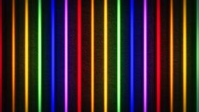 Fondo ligero de neón colorido de las rayas libre illustration