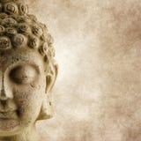 Fondo ligero del grunge de Buddha foto de archivo libre de regalías