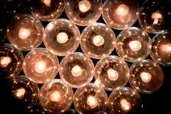 fondo ligero del tubo del tungsteno Foto de archivo libre de regalías