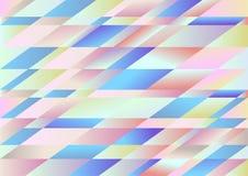 Fondo ligero del vector del Rhombus Foto de archivo