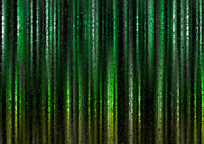Fondo ligero poligonal verde del extracto de la cortina Imágenes de archivo libres de regalías