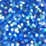Fondo ligero que brilla intensamente azul Foto de archivo libre de regalías