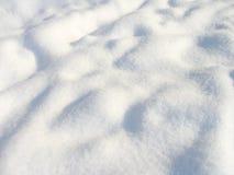 Fondo limpio hermoso de la nieve Fotos de archivo libres de regalías