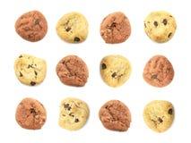 Fondo lindo de la galleta Imagen de archivo libre de regalías
