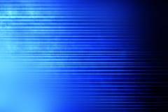 Fondo linear de la falta de definición azul Imágenes de archivo libres de regalías
