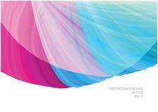 Fondo liso abstracto de las curvas Fotografía de archivo libre de regalías