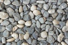 Fondo liso de la piedra del río Imagen de archivo