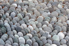 Fondo liso de la roca Fotografía de archivo libre de regalías
