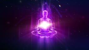 Fondo loopable de la meditación libre illustration