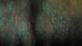 Fondo luccicante psichedelico di fantascienza dinamica multicolore stock footage