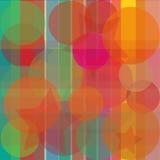Fondo luminoso astratto trasparente Fotografia Stock