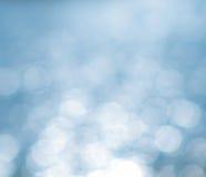 Fondo luminoso blu Immagini Stock