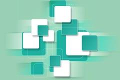 Fondo luminoso con i blocchi quadrati per progettazione Immagine Stock