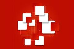 Fondo luminoso con i blocchi quadrati per progettazione Fotografia Stock Libera da Diritti