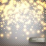 Fondo luminoso del vector mágico Foto de archivo libre de regalías