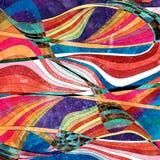 Fondo luminoso dell'acquerello astratto illustrazione vettoriale