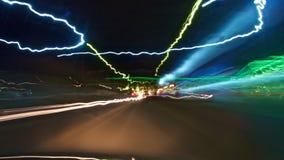 Fondo luminoso dell'automobile immersa Fotografia Stock Libera da Diritti
