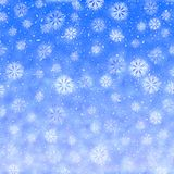 Fondo luminoso di vacanza invernale fotografia stock libera da diritti