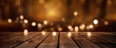 Fondo luminoso festivo para la Navidad Fotos de archivo libres de regalías