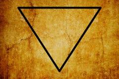 Fondo mágico del vintage de los símbolos del símbolo elemental del agua libre illustration