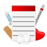 Fondo médico Imágenes de archivo libres de regalías