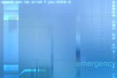 Fondo médico abstracto azul. Foto de archivo libre de regalías