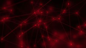 Fondo móvil abstracto Conexión de red